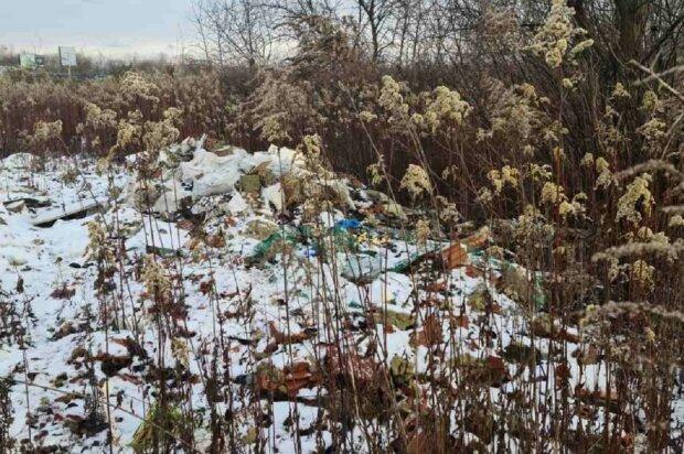 Под Львовом нашли свалку с медицинскими отходами: Facebook полиция Львовской области