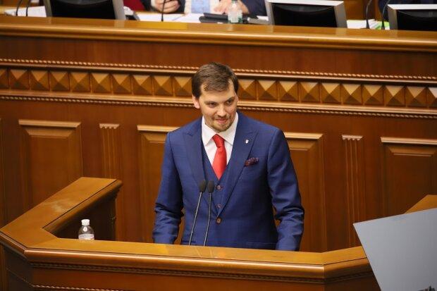 Алексей Гончарук, УП