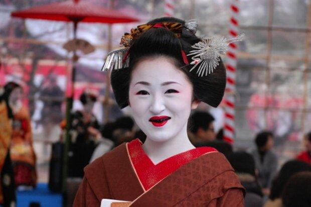 Японская гейша, фото kulturologia.ru