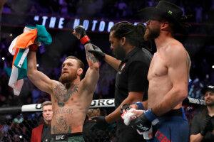 Макгрегор досрочно победил Серроне, Getty Images