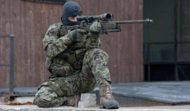 В зоні АТО полюють на снайпера терористів, який поранив українського солдата