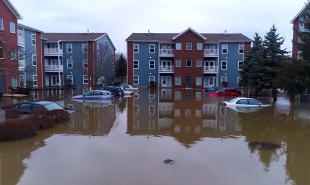 Наводнения, скриншот: YouTube