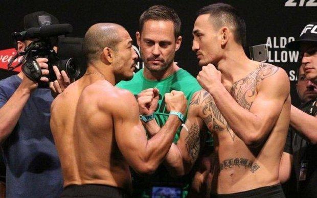 UFC 212: Зважування перед боєм Альдо - Холлоуей і битва поглядів