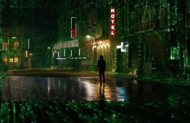 """Кадр з трейлера """"Матриця 4"""", скріншот: YouTube"""