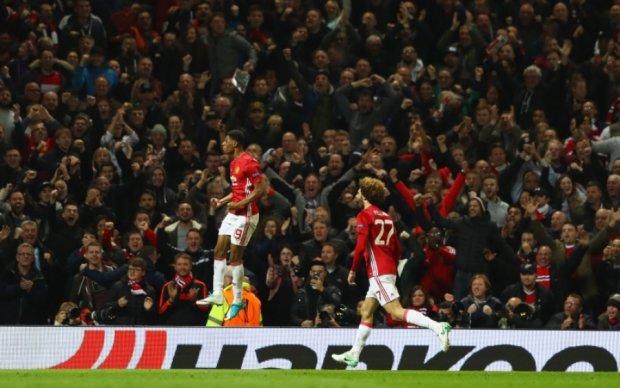 Манчестер Юнайтед в экстра-тайме добывает путевку в полуфинал Лиги Европы