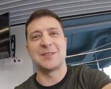 """Володимир Зеленський, кадр зх відео """"Відверто з Президентом"""""""