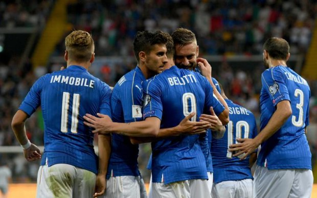 Італія - Ліхтенштейн 5:0 Відео голів та огляд матчу