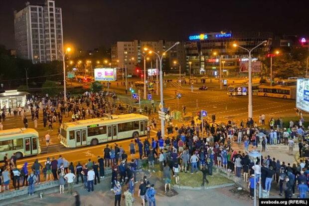 Протесты в Минске, фото svoboda.org