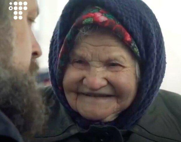 94-річна бабуся з Почайної розповіла про пережиті жахи Голодомору, скрін