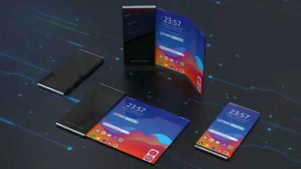 LG гибкий смартфон, gizchina