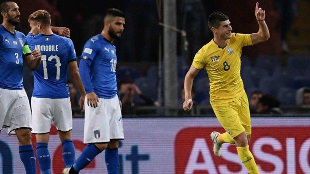 Названо кращих гравців матчу Італія - Україна