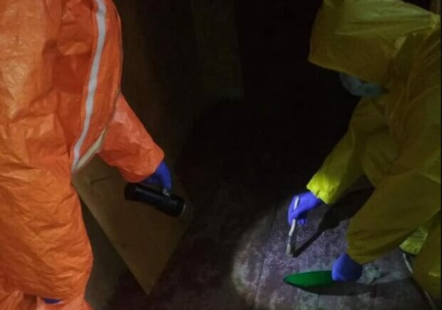 Во Львове обнаружили ртуть, фото ГСЧС