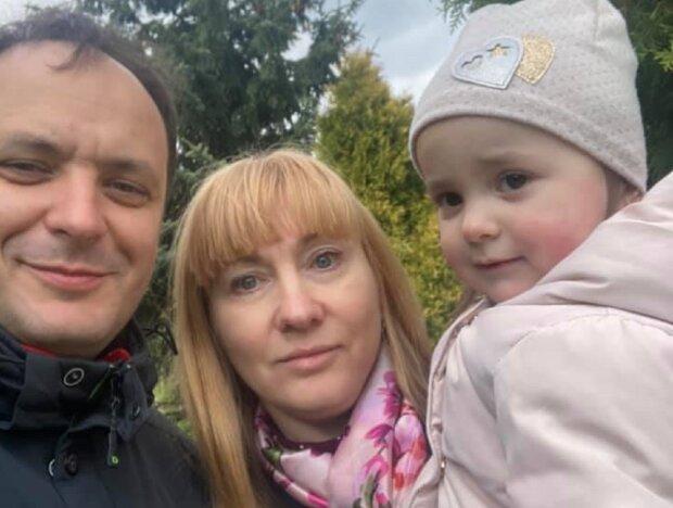 Руслан Марцинкив с семьей, фото: Facebook