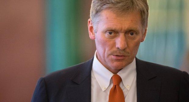 """""""В Азовському морі небезпечна провокація, Кремль не при чому"""": Пєсков засунув голову в пісок"""