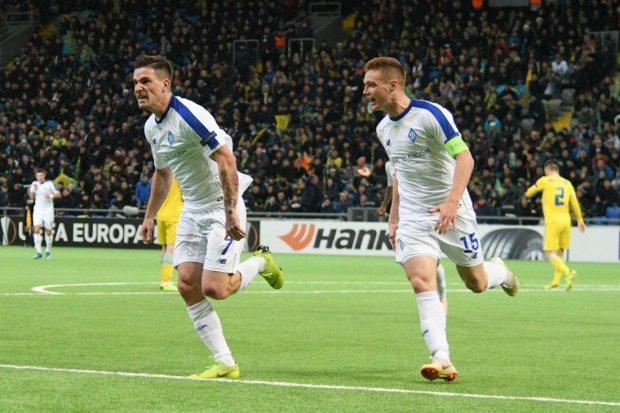 Динамо визначилося із заявкою на Лігу Європи