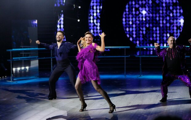 Олена Кравець, Танці з зірками, 1+1
