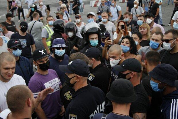 сутички на Барабашова, фото: insider news