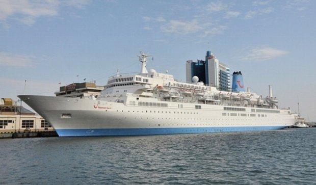 Круїзний лайнер привіз британських туристів в Одесу (фото)