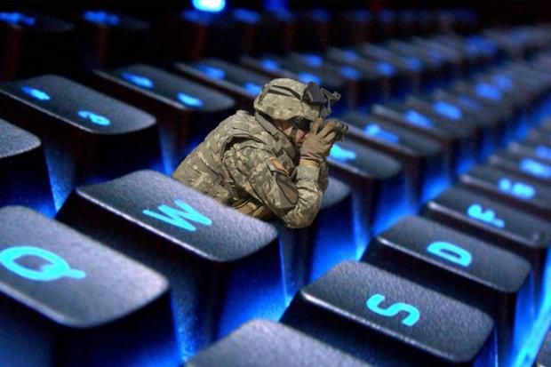 Кибервойны в интернете