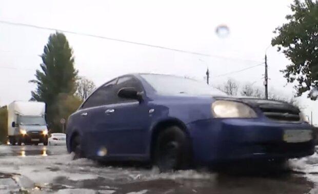 Дощ, скріншот відео