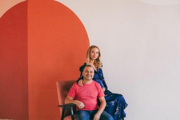 Виктор Павлик и жена, фото: Instagram