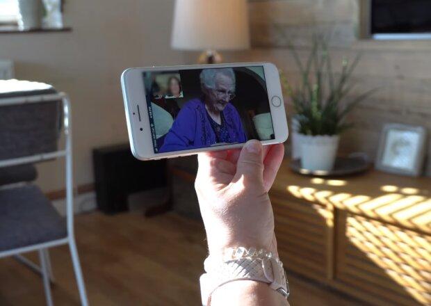 Відеозв'язок, скрін з відео