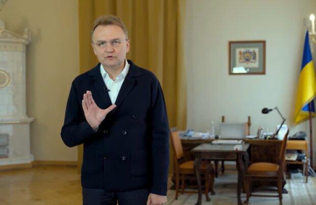 Андрій Садовий, скріншот із відео