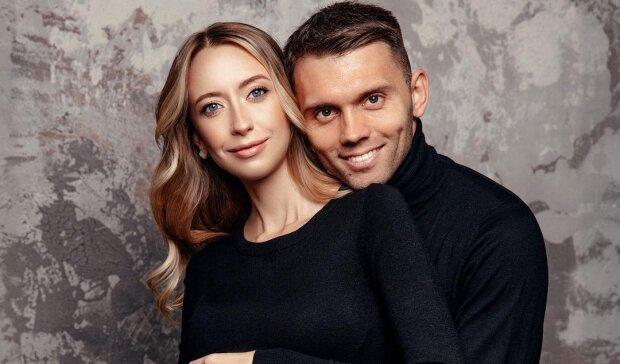 Александр Караваев с женой, фото с Instagram