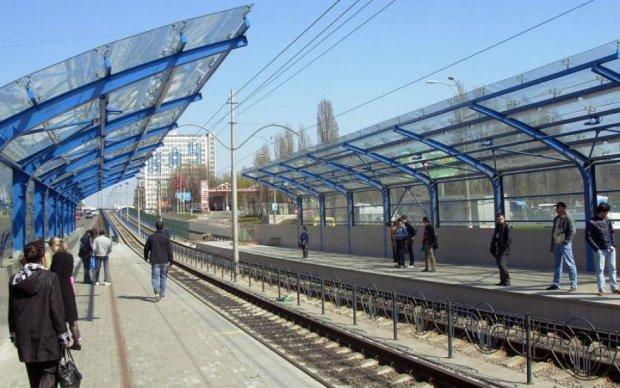 Киевский трамвай лишился одной остановки