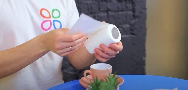 Туалетная бумага, скриншот: Youtube
