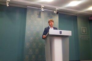 брифінг представника Президента України у Кабінеті Міністрів Андрія Геруса