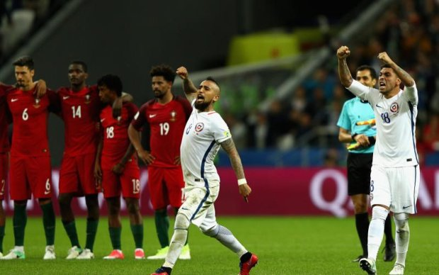 Кубок конфедерацій: Чилі в серії пенальті перемогло Португалію