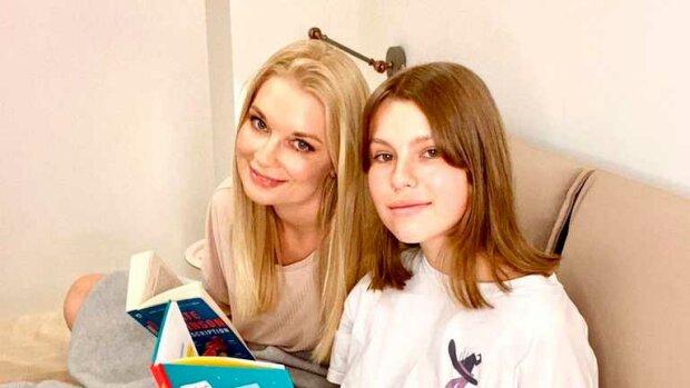 Лідія Таран з донькою / Фото з інстаграму телеведучої
