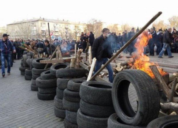 Міліція затримала бунтівників у Констянтинівці