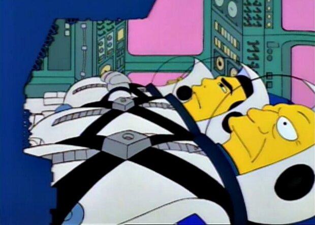 Симпсоны, фото с Twitter