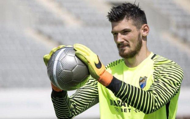 Український воротар не залишиться в Іспанії