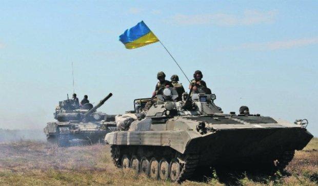 Украинцы отмечают День вооруженных сил