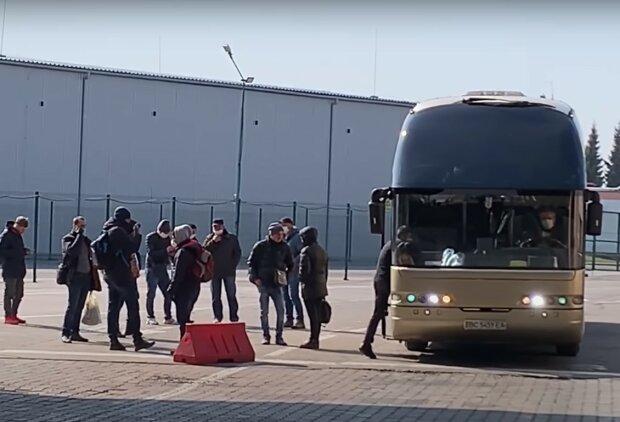 українсько-польський кордон, скріншот із відео