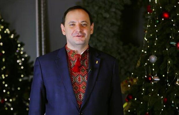 Руслан Марцинкив, кадр из видеопоздравления: Facebook