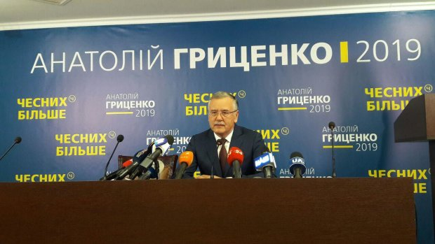 Гриценко сказав, за кого голосуватиме у другому турі: не хочу ще п'ять років обману і мародерства