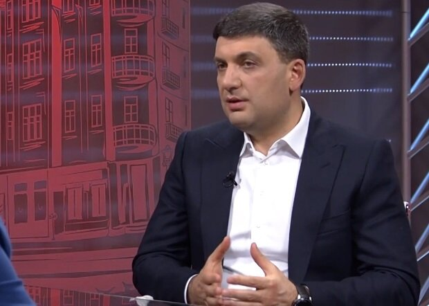 Владимир Гройсман, скриншот видео
