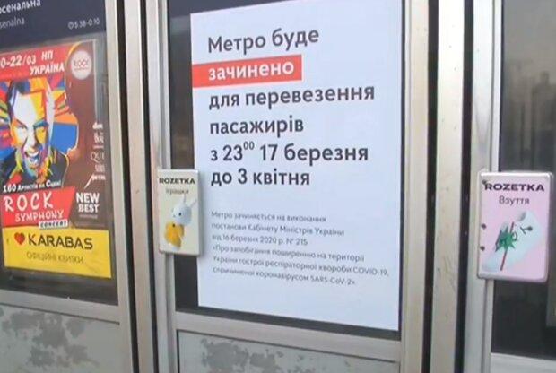 Киевское метро захватили бездомные, пока украинцы катаются на такси втридорога