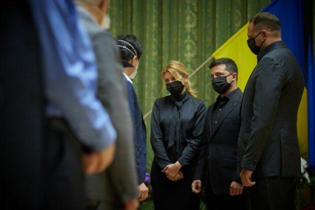 Прощання з Патоном, фото: прес-служба президента