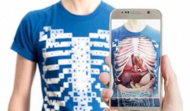 Футболка позволит интерактивно изучить анатомию человека (видео)