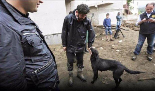 С наводнением в Тбилиси борется экс-динамовец Каха Каладзе