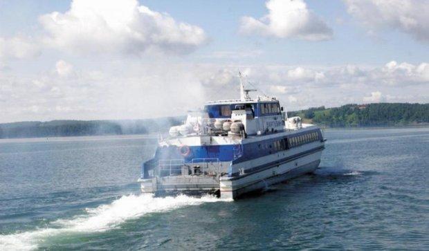 На озері Байкал горів теплохід з 120 пасажирами