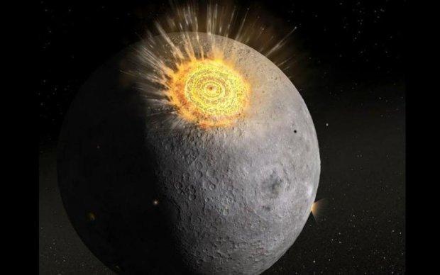 Метеорити атакували Місяць: неймовірне відео