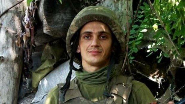 Військовий Сергій, фото: ООС Facebook