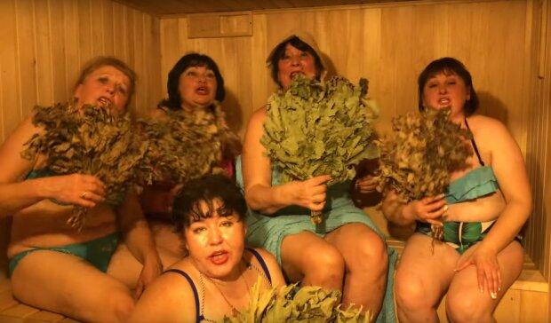 """Аппетитные женщины из """"Лисапетного батальона"""" послали всех в баню: """"Еще подбросим жара"""""""