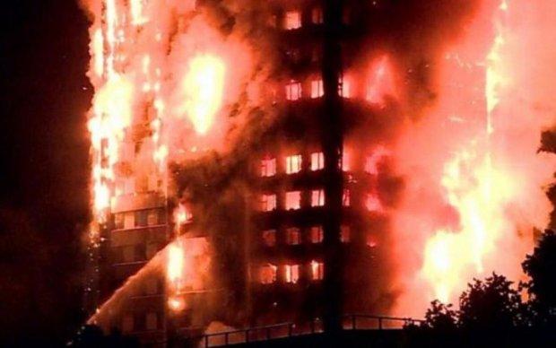 Стала известна причина пожара в Лондоне